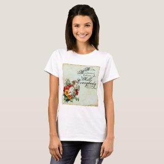 """Gen. James Mattis """"Be Polite..."""" w/ Floral Accents T-Shirt"""