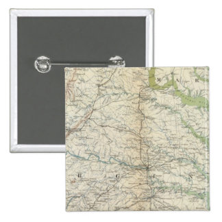 Gen map II 15 Cm Square Badge