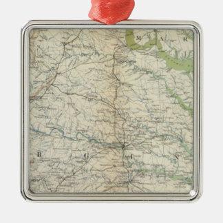 Gen map II Christmas Ornament