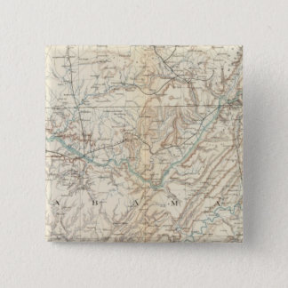 Gen map XIV 15 Cm Square Badge
