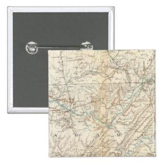 Gen map XIV 15 Cm Square Badge