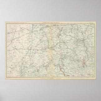 Gen map XVI Poster
