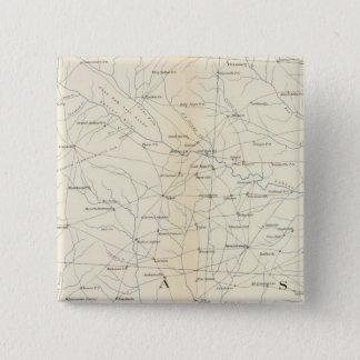 Gen map XXIII 15 Cm Square Badge