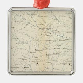 Gen map XXIII Christmas Ornament