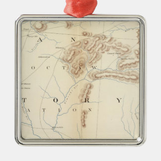 Gen map XXIV Christmas Ornament