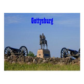 Gen. Meade at Gettysburg Postcard