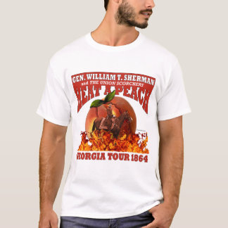 Gen Sherman 'Heat a Peach' Tour 1864 Shirt (Light)