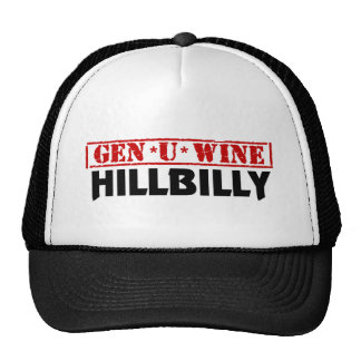 Gen U Wine Hillbilly Hats