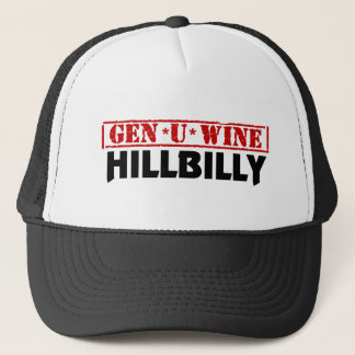 Gen U Wine Hillbilly Trucker Hat