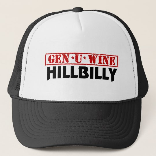 Gen U Wine Hillbilly Trucker Hat