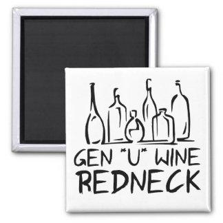 Gen U Wine Redneck Refrigerator Magnets