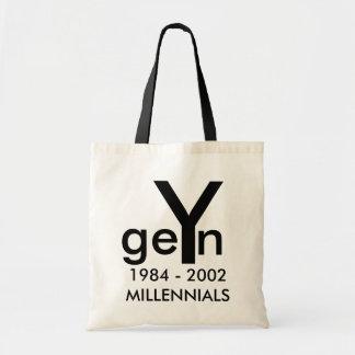 Gen Y Tote Bag