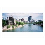 Genbaku Dome for Peace and Hiroshima Skyline Post Cards