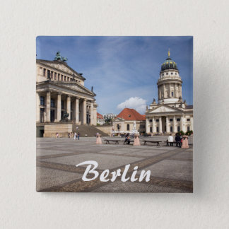 Gendarmenmarkt, Berlin 15 Cm Square Badge