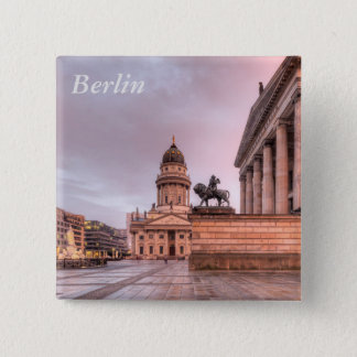 Gendarmenmarkt Berlin 15 Cm Square Badge