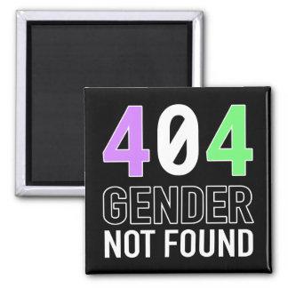 Gender 404 Magnet