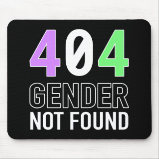 Gender 404 Mousepad