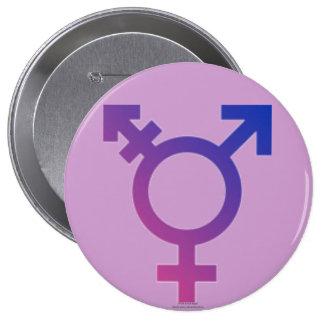 Gender Equality 10 Cm Round Badge