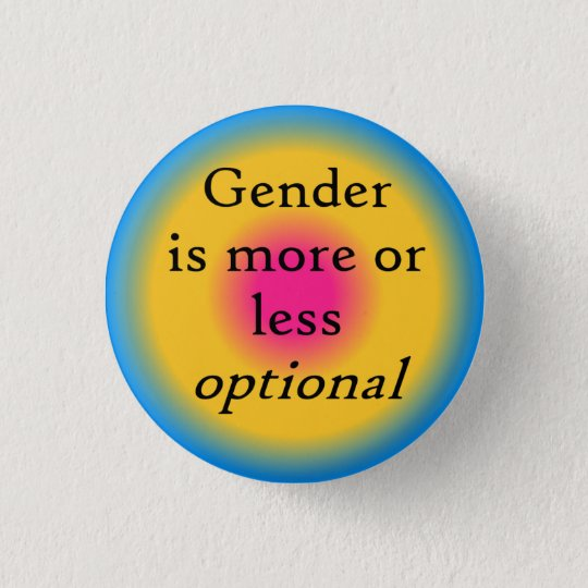 Gender is optional button