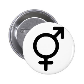 Gender Neutra Black The MUSEUM Zazzle Gifts 6 Cm Round Badge