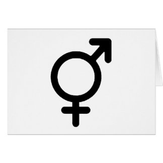 Gender Neutra Black The MUSEUM Zazzle Gifts Greeting Card