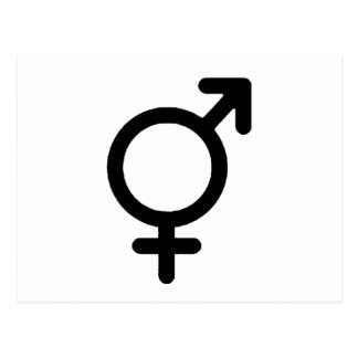 Gender Neutra Black The MUSEUM Zazzle Gifts Postcard