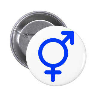 Gender Neutral Blue The MUSEUM Zazzle Gifts Button