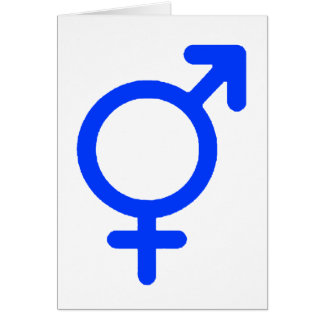 Gender Neutral Blue The MUSEUM Zazzle Gifts Greeting Card
