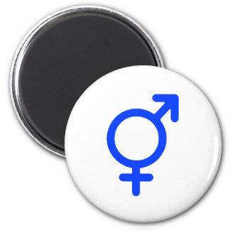 Gender Neutral Blue The MUSEUM Zazzle Gifts Fridge Magnet