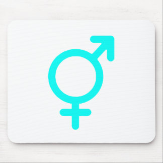 Gender Neutral Cyan The MUSEUM Zazzle Gifts Mouse Pad