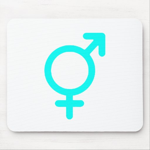 Gender Neutral Cyan The MUSEUM Zazzle Gifts Mouse Pads