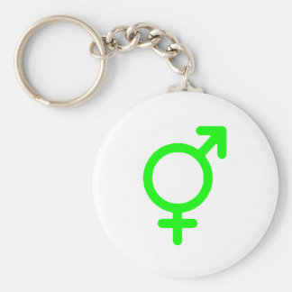 Gender Neutral Green The MUSEUM Zazzle Gifts Basic Round Button Key Ring