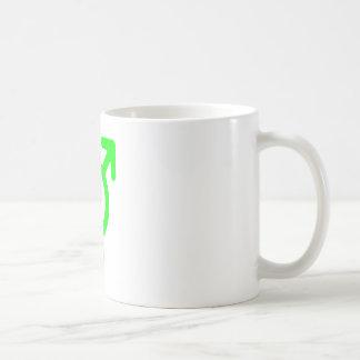 Gender Neutral Green The MUSEUM Zazzle Gifts Basic White Mug