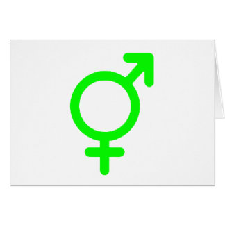 Gender Neutral Green The MUSEUM Zazzle Gifts Greeting Card