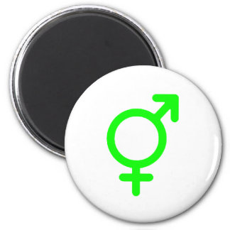 Gender Neutral Green The MUSEUM Zazzle Gifts Magnet