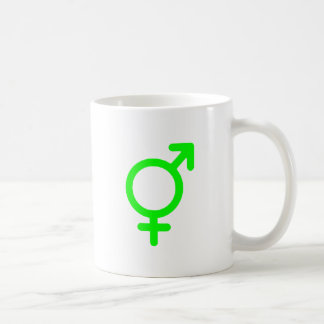 Gender Neutral Green The MUSEUM Zazzle Gifts Classic White Coffee Mug