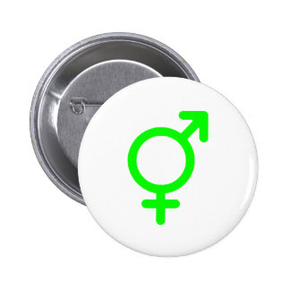 Gender Neutral Green The MUSEUM Zazzle Gifts Pin