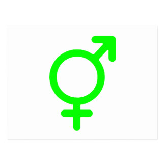 Gender Neutral Green The MUSEUM Zazzle Gifts Postcard