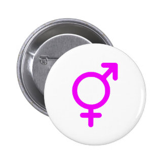 Gender Neutral Magenta The MUSEUM Zazzle Gifts 6 Cm Round Badge
