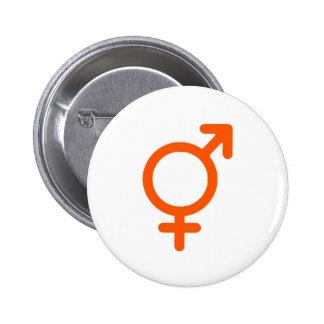 Gender Neutral Orange The MUSEUM Zazzle Gifts 6 Cm Round Badge