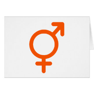 Gender Neutral Orange The MUSEUM Zazzle Gifts Greeting Card