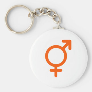 Gender Neutral Orange The MUSEUM Zazzle Gifts Basic Round Button Key Ring