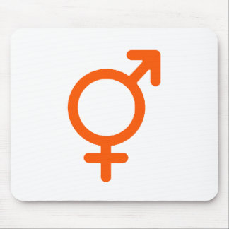 Gender Neutral Orange The MUSEUM Zazzle Gifts Mouse Pad