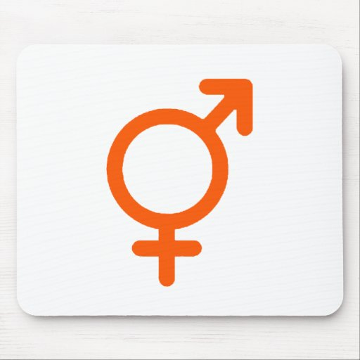 Gender Neutral Orange The MUSEUM Zazzle Gifts Mousepads