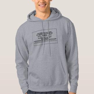 Gender-Neutral Pope Top Hooded Sweatshirts