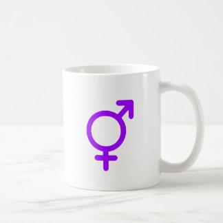 Gender Neutral Purple The MUSEUM Zazzle Gifts Basic White Mug
