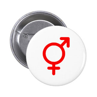 Gender Neutral Red The MUSEUM Zazzle Gifts 6 Cm Round Badge