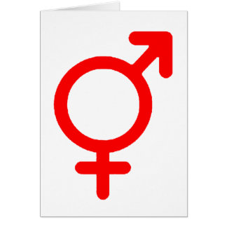 Gender Neutral Red The MUSEUM Zazzle Gifts Greeting Cards