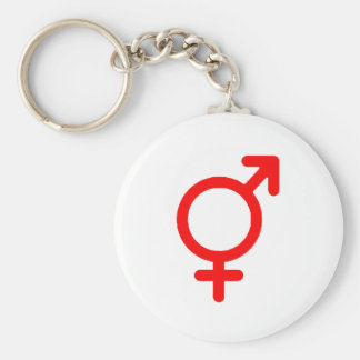 Gender Neutral Red The MUSEUM Zazzle Gifts Keychain