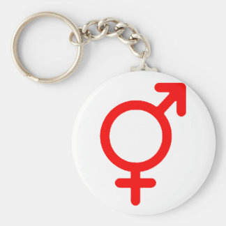 Gender Neutral Red The MUSEUM Zazzle Gifts Key Chains
